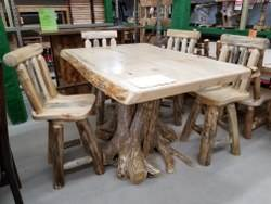 "42"" x 60"" Pine Counter Height Dining Table"