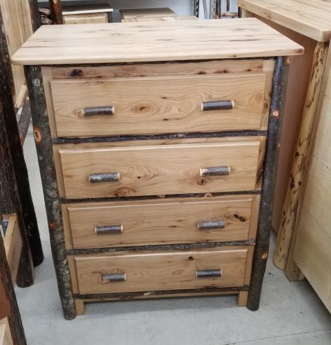 Hickory Chest - 4 Drw