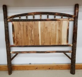 Rustic Hickory Queen Panel Headboard Only