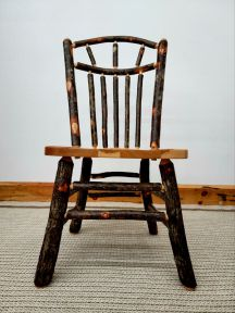 Hickory Dining Chair - Wagon Wheel