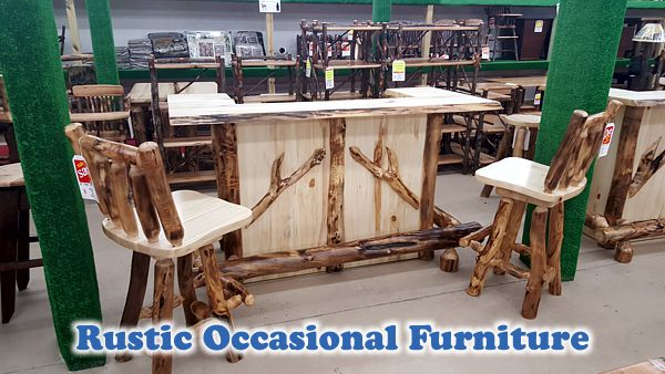 Rustic Occasional Furniture